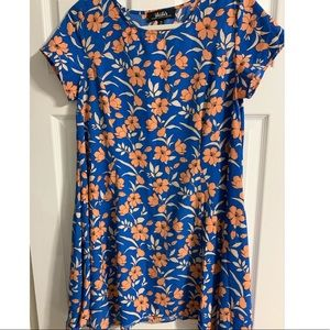 Lulu's Floral Flowy Dress